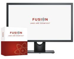 Fusion Professional 2021 Screen Reader & Magnification Software